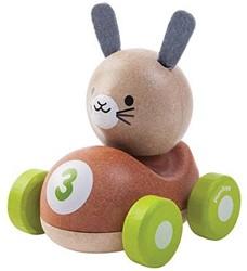 Plan Toys houten auto Konijn