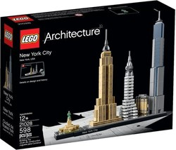 LEGO Architecture Set New York City 21028