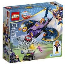 Lego  DC Super Hero Girls set Batgirl Batjet Achtervolging 41230