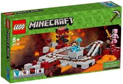 Lego  Minecraft set De Nether spoorweg 21130