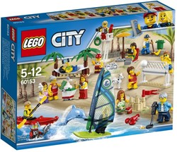 LEGO City Plezier in het strand - City personenset 60153