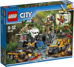 LEGO city Jungle Explorers Jungle onderzoekslocatie 60161