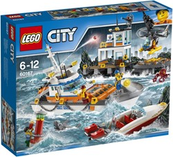 LEGO City Kustwacht Kustwacht hoofdkwartier 60167