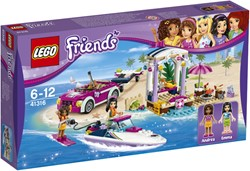 LEGO Friends Andreas speedboottransport 41316
