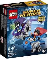 Lego  Super Heroes set Mighty Micros: Superman vs Bizarro 76068