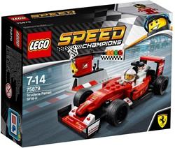 Lego  Speed Champions set Scuderia Ferrari SF-H 75879