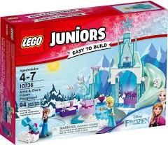 LEGO Juniors Anna & Elsa's bevroren speeltuin 10736