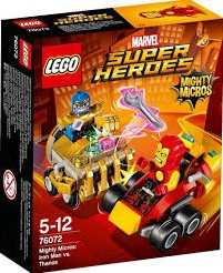 Lego  Super Heroes set Mighty Micros: Iron Man vs. Thanos 76072