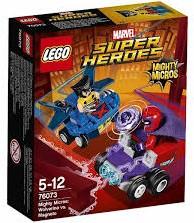 Lego  Super Heroes set Mighty Micros: Wolverine vs. Magneto 76073