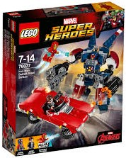 LEGO Super Heroes Iron Man: Detroit Steel valt aan 76077