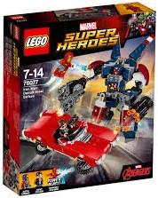 Lego  Super Heroes set Iron Man: Detroit staalstrijd 76077