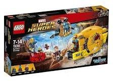 Lego  Super Heroes set Ravager Attack 76080
