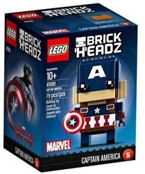 Lego BrickHeadz Captain America 41589