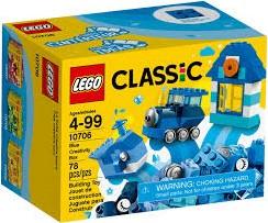LEGO Classic Blauwe creatieve doos 10706