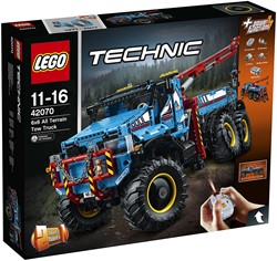 LEGO Technic Allterrain sleepwagen 6x6 42070