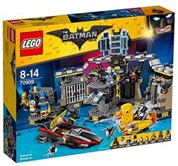 Lego Batman set Batcave inbraak 70909