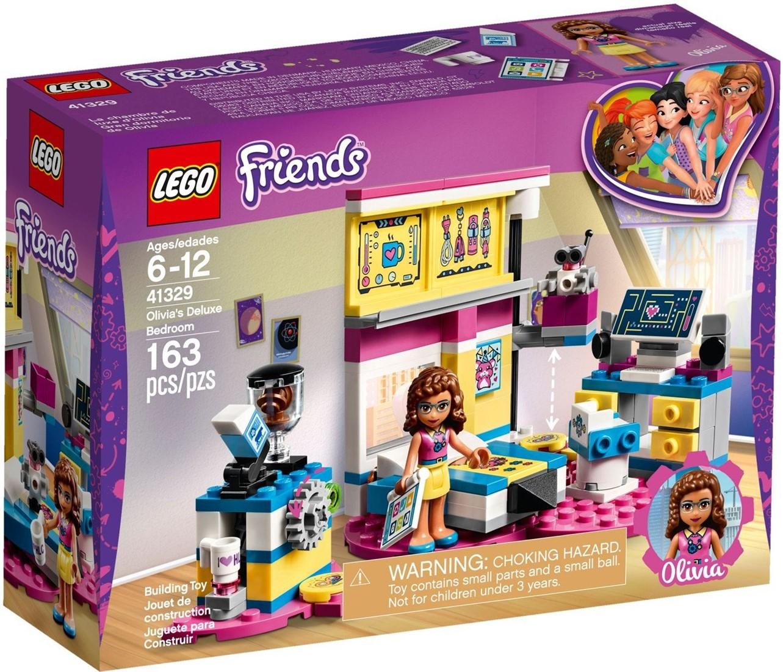 Lego Friends Olivia S Luxe Slaapkamer 41329 on Centimeter Cubes