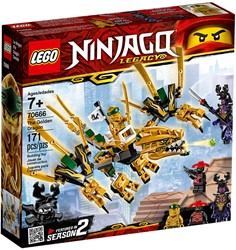 LEGO Ninjago De Gouden Draak 70666