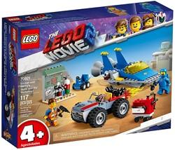 LEGO Movie 2 4+ Emmets en Benny's bouw- en reparatiewerkplaats 70821