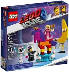 LEGO Movie 2 Maak kennis met koningin Watevra Wa'Nabi 70824