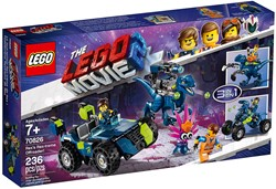 LEGO Movie 2 Rex's Rex-treme offroader 70826
