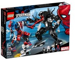 LEGO Super Heroes Spider Mecha vs. Venom 76115