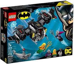 LEGO Super Heroes Batman Batduikboot en het onderwatergevecht 76116