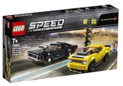 LEGO Speed Champions 2018 Dodge Challenger SRT Demon en 1970 Dodge Charger R/T 75893