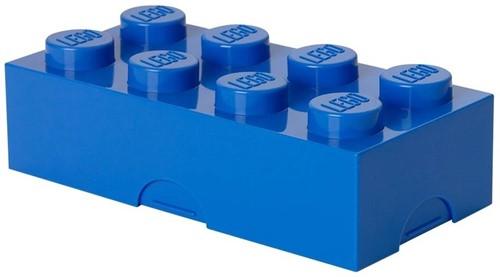 Lunchbox Classic Brick 8 Donkerblauw