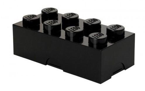 Lunchbox Classic Brick 8 Zwart