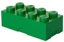 Lunchbox Classic Brick 8 Groen