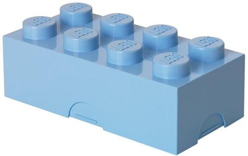 Lunchbox Classic Brick 8 Lichtblauw