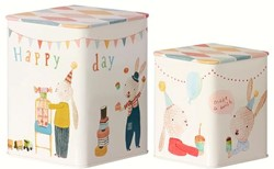 Maileg 2 Happy Day boxes, SET