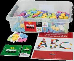 Plus-Plus education Midi Pastel 400 stuks