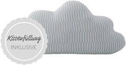 Bloomingville Cushion, Blue, Cotton