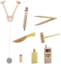 Bloomingville speelgoed, Play Set, Doctor, Multi-color, Wood