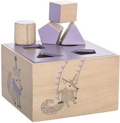 Bloomingville speelgoed, Circus Intelligence Box, Purple, Beech