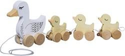Bloomingville speelgoed, Pull Along Toy, Multi-color, MDF