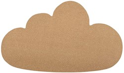 Bloomingville Cloud Pin Board, Nature, Cork