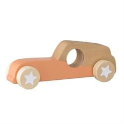Bloomingville speelgoed, Toy Car, Orange, Beech