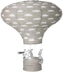 Bloomingville Lantern, Grey, Paper