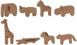 Bloomingville speelgoed, Toy Animal, Nature, Beech
