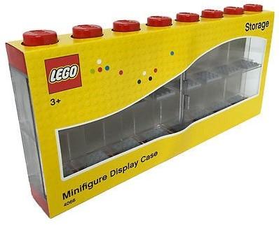 LEGO Opbergbox Minifigure 16 - Rood
