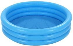 Intex opblaasbaar zwembad Rond blauw 168x41cm