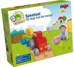 Haba  Mijn eerste speelset - Boerderij - Speelset Op stap met de tractor 5892