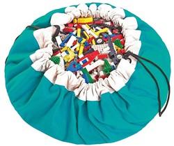 Play&Go  speelgoed opbergzak Turquoise