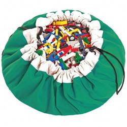 Play&Go  speelgoed opbergzak Groen