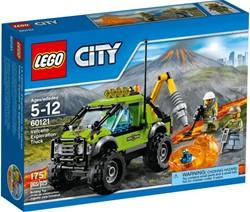 Lego  City vulkaan onderzoekstruck 60121
