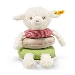 Steiff babyspeelgoed cream/multicoloured 18 cm