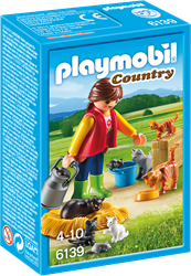 Playmobil Country  - Bonte kattenfamilie  6139